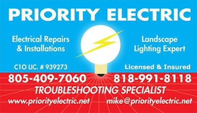 Priority Electric Electrician Electrical Contractor
